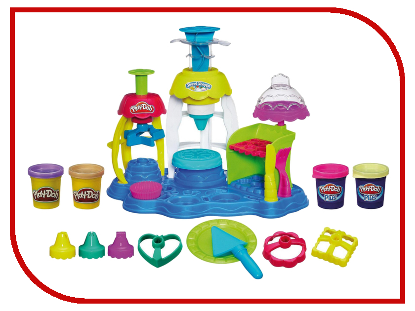 Игрушка Hasbro Play-Doh Фабрика пирожных A0318