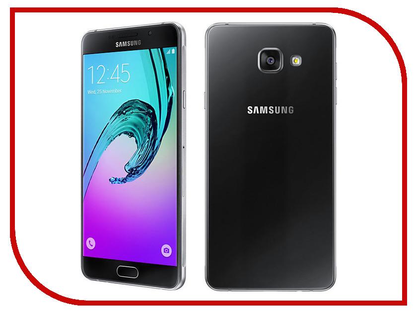 Сотовый телефон Samsung SM-A710F Galaxy A7 (2016) Black<br>