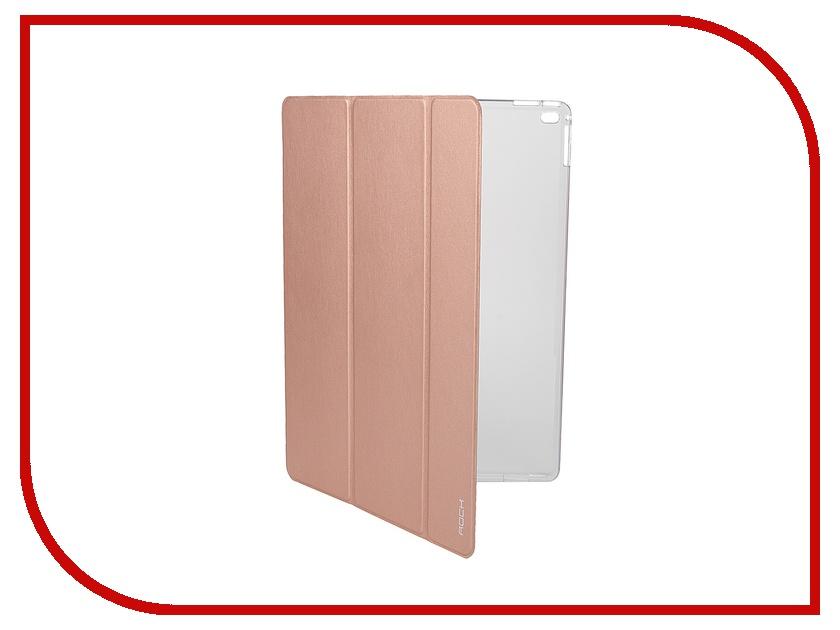 Аксессуар Чехол-книга ROCK Touch Series для APPLE iPad Pro Rose Gold<br>