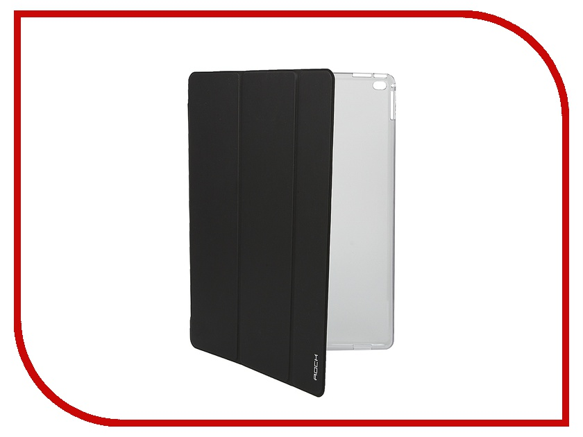 Аксессуар Чехол-книга ROCK Touch Series для APPLE iPad Pro Black<br>
