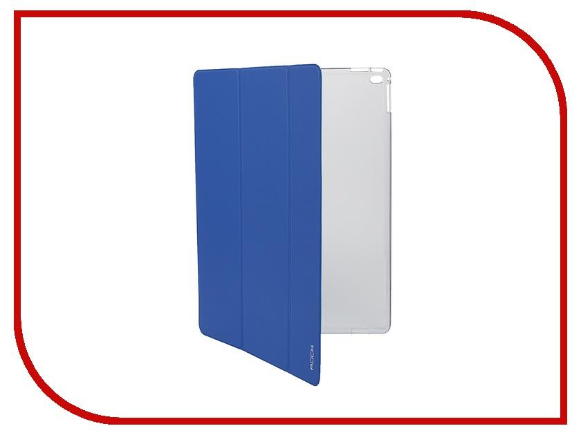 Аксессуар Чехол-книга ROCK Touch Series для APPLE iPad Pro Blue<br>