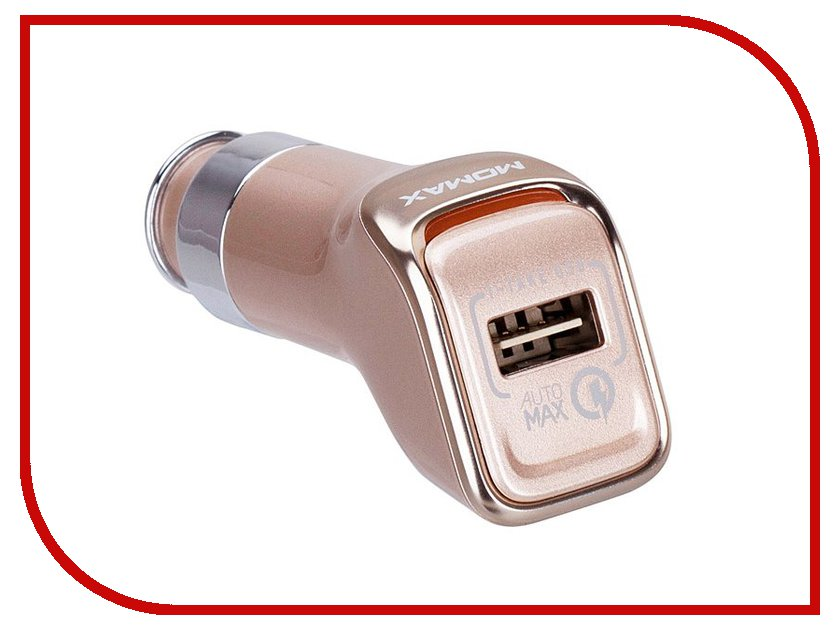 Зарядное устройство MOMAX Top Series Quick Charge 2.0 USB Gold<br>