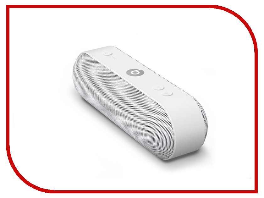 Колонка Beats Pill+ White ML4P2ZE/A аксессуар подставка dude for beats pill white