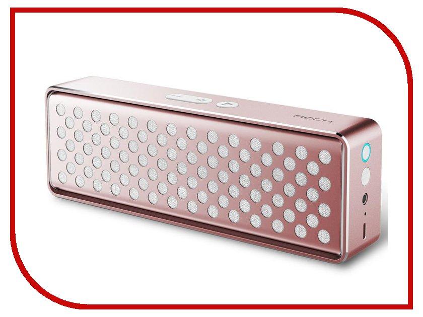 Колонка ROCK Mubox Bluetooth Speaker RAU0506 Rose Gold<br>