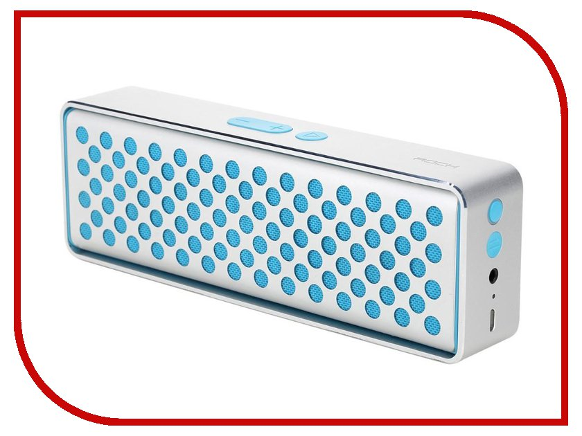 Колонка ROCK Mubox Bluetooth Speaker RAU0506 Blue<br>