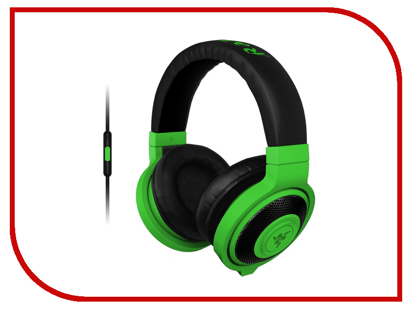 Гарнитура Razer Kraken Mobile Neon Green RZ04-01400100-R3M1<br>