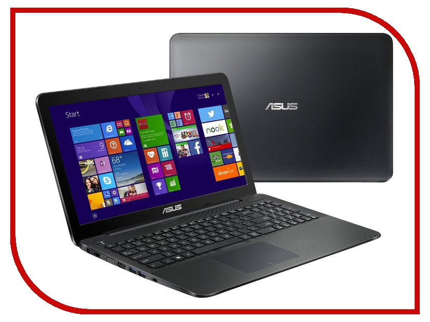 Ноутбук ASUS X554LA-XX1586D 90NB0658-M29740 (Intel Core i3-4005U 1.7 GHz/4096Mb/500Gb/DVD-RW/Intel HD Graphics/Wi-Fi/Cam/15.6/1366x768/DOS)<br>
