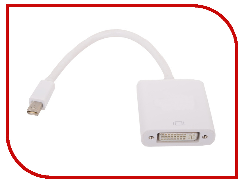 Аксессуар VCOM Mini DisplayPort M - DVI F 0.2m VHD6050<br>