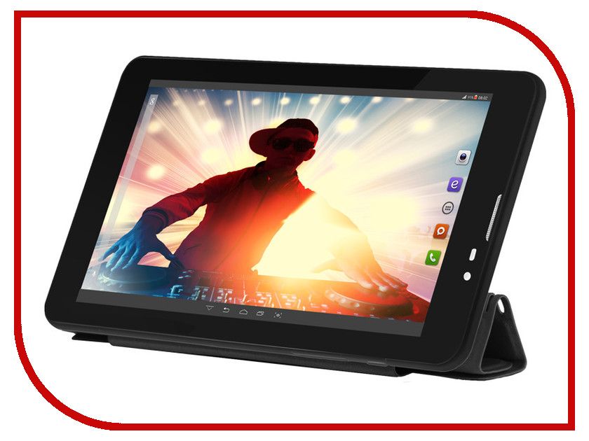 Планшет BQ 7063G Disco Black Spreadtrum SC7731 1.3 GHz/1024Mb/8Gb/Wi-Fi/3G/Bluetooth/GPS/Cam/7.0/1024x600/Android<br>