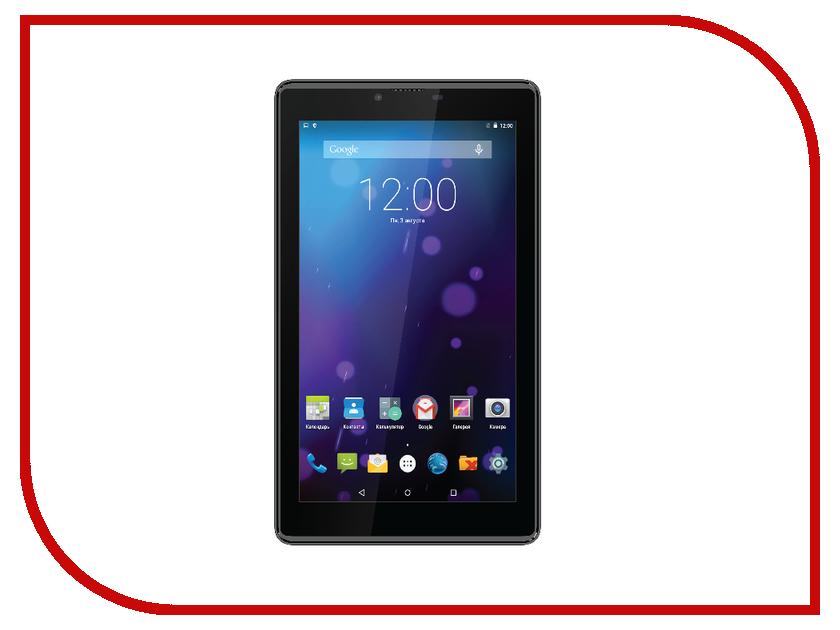 Планшет teXet X-pad RAPID 7.2 4G TM-7889 MediaTek MT8735 1.0 GHz/1024Mb/8Gb/LTE/Wi-Fi/Bluetooth/Cam/7.0/1024x600/Android