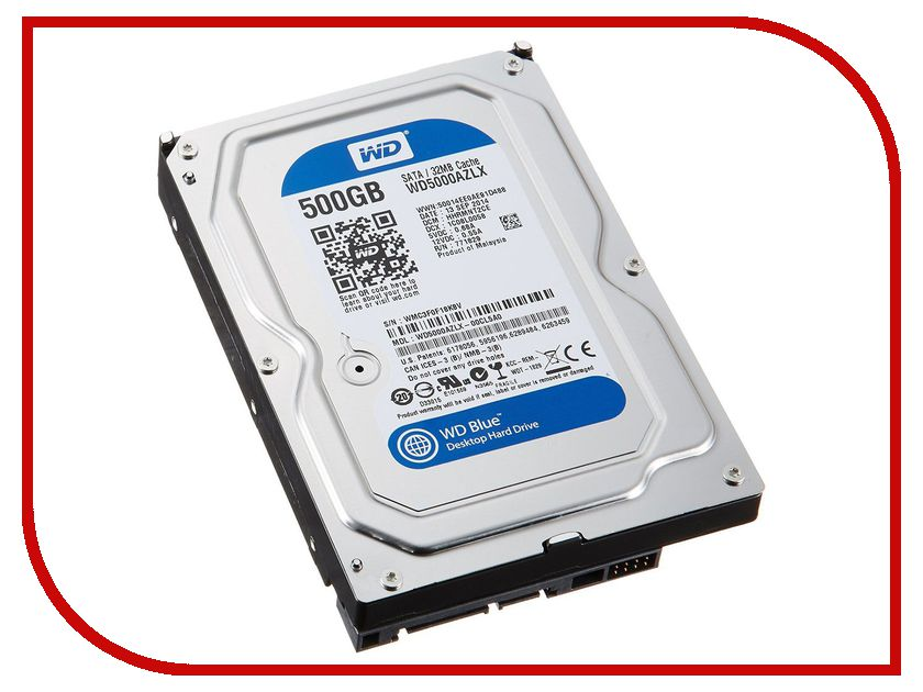 Фото Жесткий диск 500Gb - Western Digital WD5000AZLX