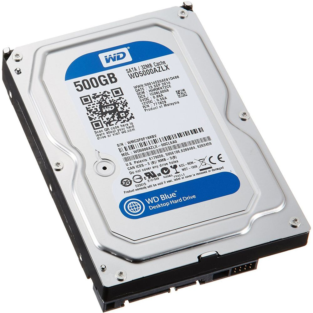 Жесткий диск 500Gb - Western Digital WD5000AZLX жесткий диск 500gb western digital wd5003azex caviar black