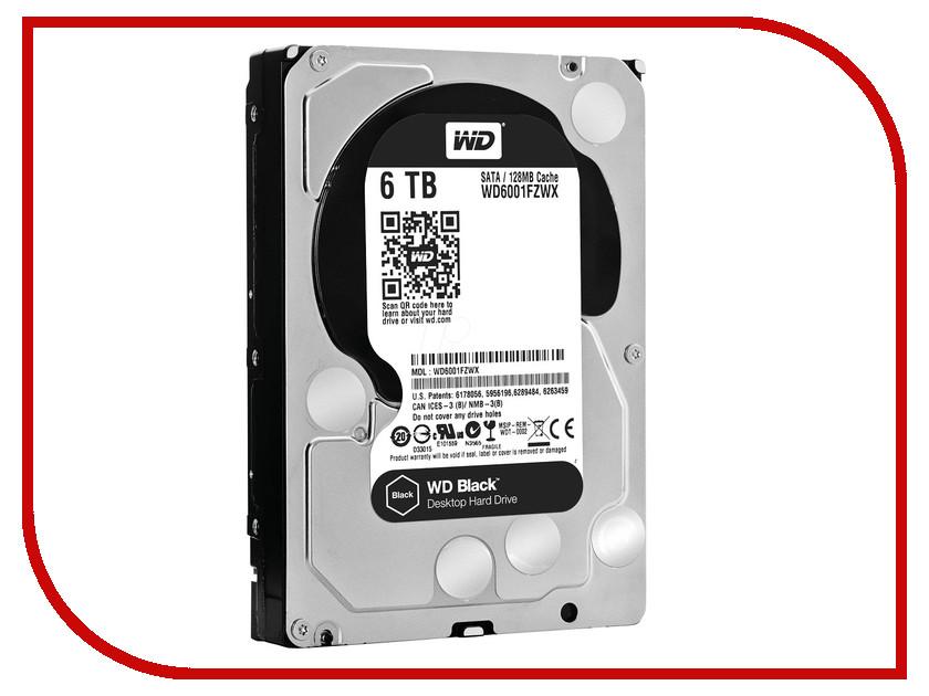 Жесткий диск 6Tb - Western Digital WD6001FZWX