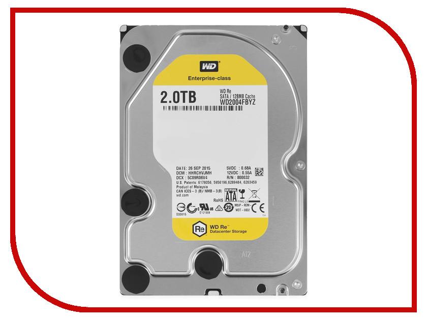 Жесткий диск 2Tb - Western Digital WD2004FBYZ
