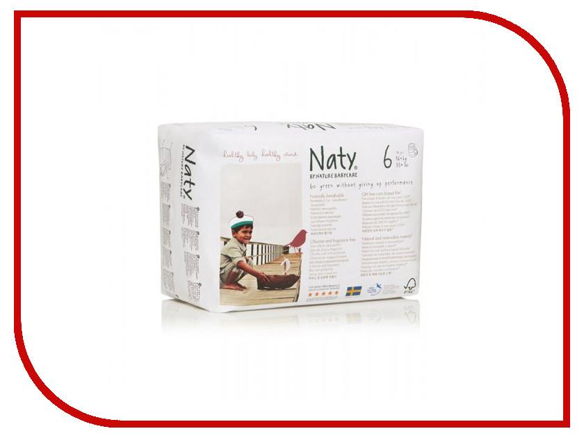 Подгузники Naty 6 16+кг 18шт - трусики