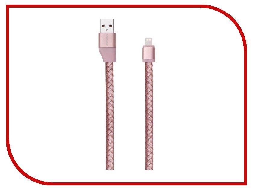 Аксессуар Кабель MOMAX USB to Lightning Elite Link Pro 1m MFI Rose Gold<br>