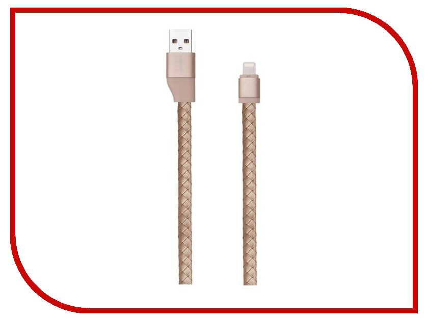 Аксессуар Кабель MOMAX USB to Lightning Elite Link Pro 1m MFI Golden<br>
