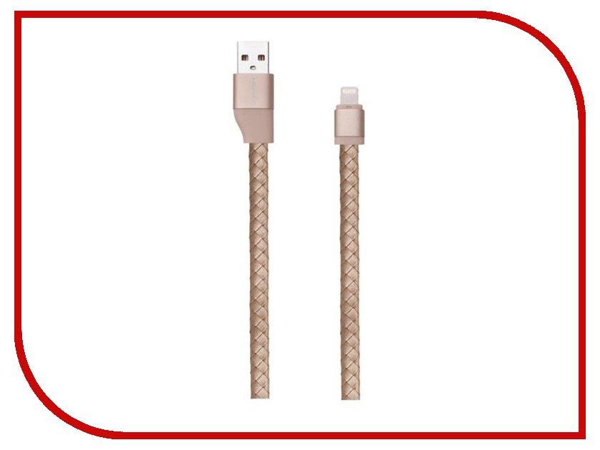 Аксессуар Кабель MOMAX USB to Lightning Elite Link Pro 1m MFI Golden