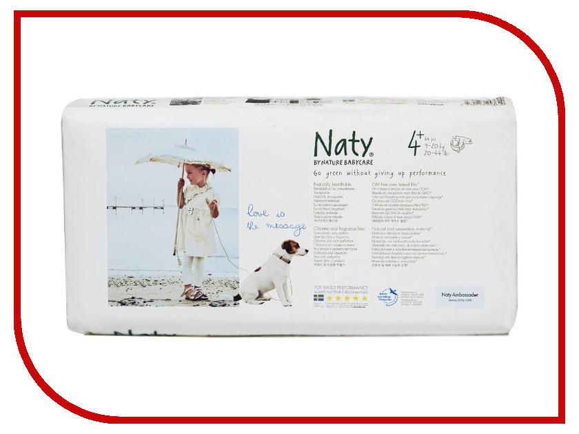 Подгузники Naty 4+ 9-20кг 44шт<br>