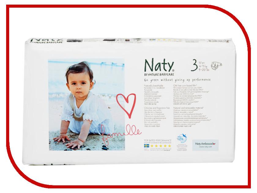 Подгузники Naty 3 4-9кг 52шт<br>