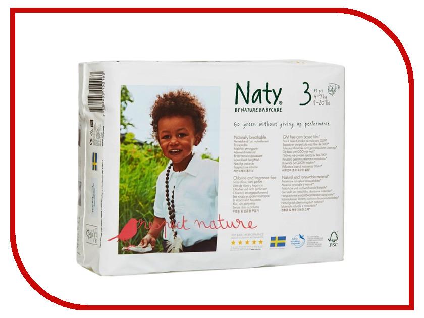Подгузники Naty 3 4-9кг 31шт<br>