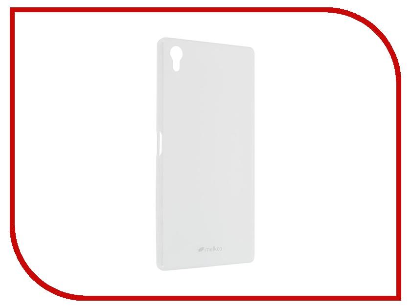 Аксессуар Чехол Sony Xperia Z5 Premium Melkco Transparent Mat 8262<br>