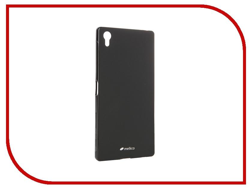 Аксессуар Чехол Sony Xperia Z5 Premium Melkco Black Mat 8261