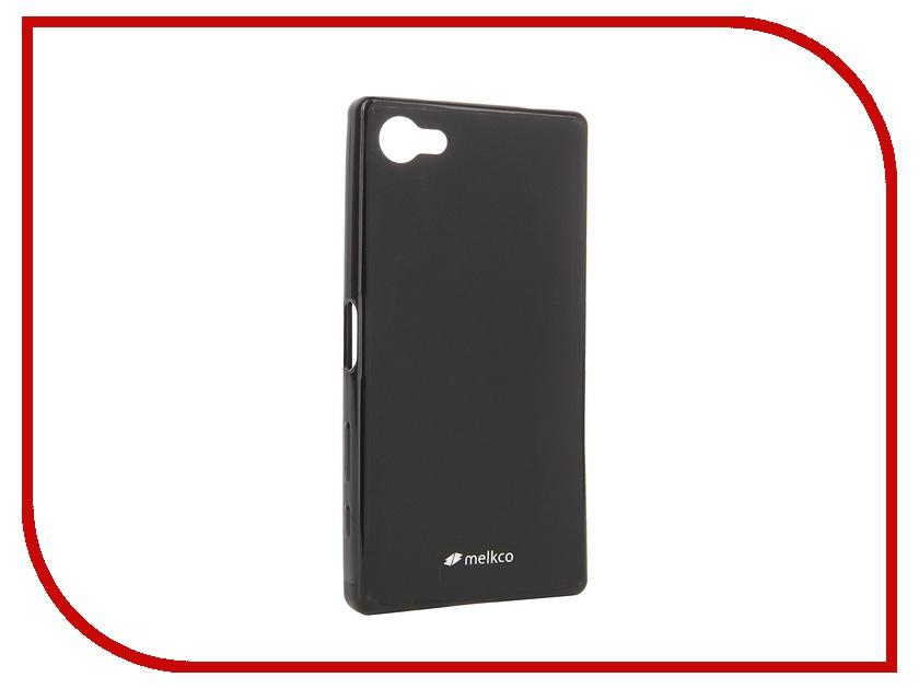 ��������� ����� Sony Xperia Z5 Compact Melkco Black Mat 8259