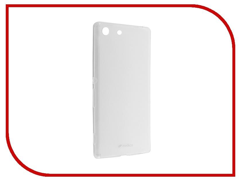 Аксессуар Чехол Sony Xperia M5 / M5 Dual Melkco Transparent Mat 8256