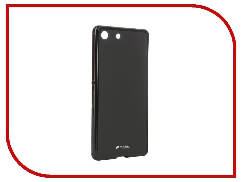 Аксессуар Чехол Sony Xperia M5 / M5 Dual Melkco Black Mat 8255<br>