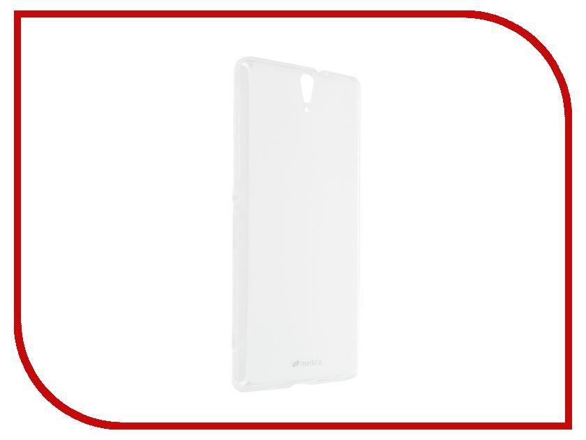 Аксессуар Чехол Sony Xperia C5 Ultra Dual Melkco Transparent Mat 8254<br>