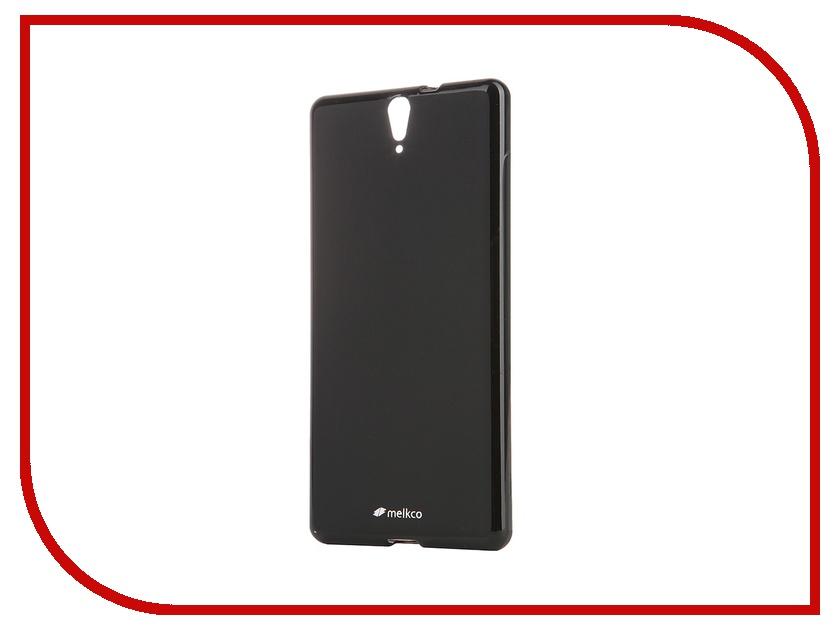 Аксессуар Чехол Sony Xperia C5 Ultra Dual Melkco Black Mat 8253<br>