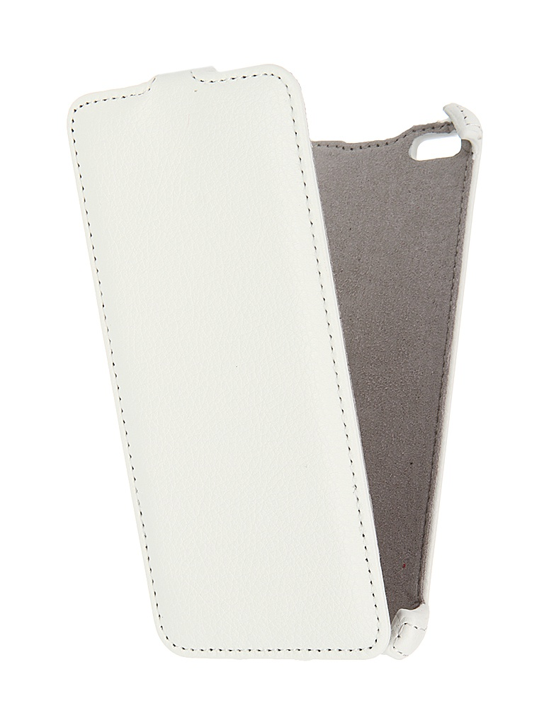 Аксессуар Чехол-книжка Micromax Q450 Canvas Sliver 5 Armor White 8537