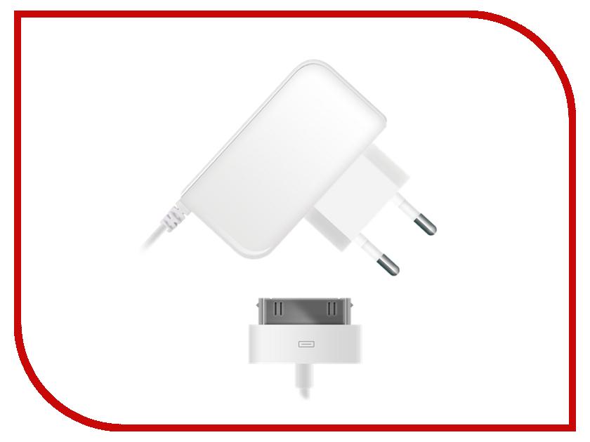 Зарядное устройство BB Lightning 30pin 1A 004-001 1.2m White 08983<br>