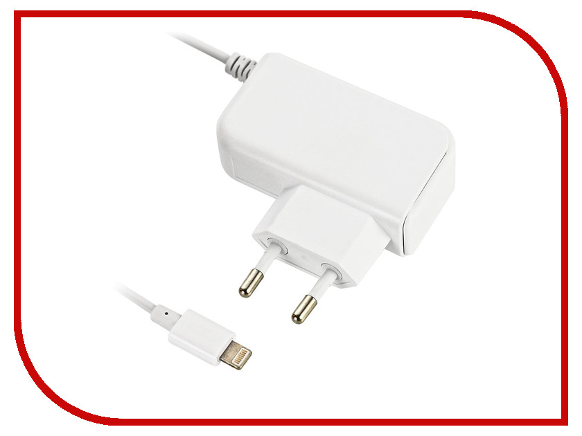 Зарядное устройство BB Lightning 8pin 1A 005-001 1.2m White 08984<br>