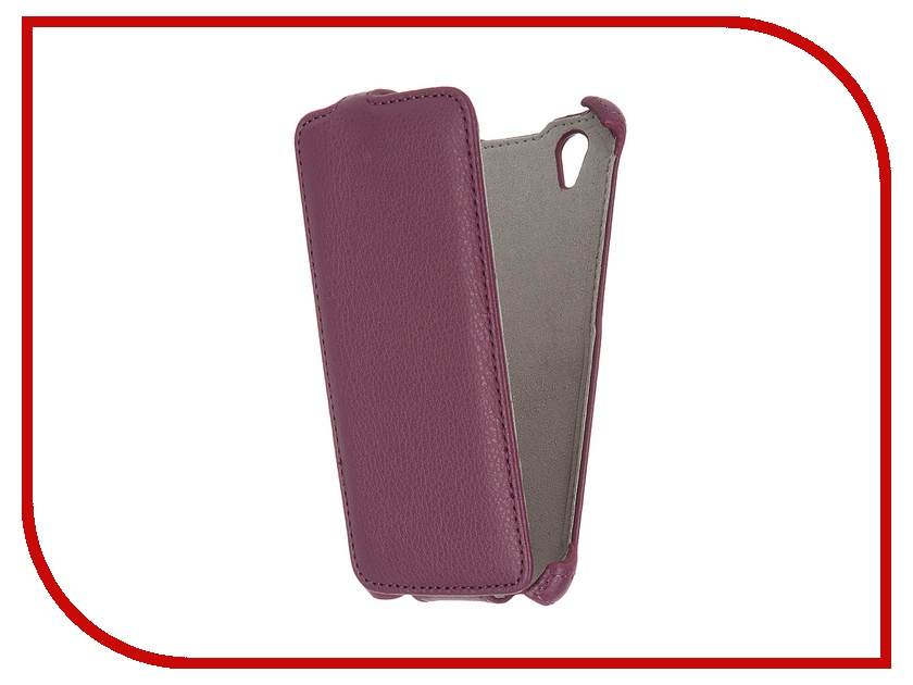 Аксессуар Чехол Fly FS452 Nimbus 2 Armor Purple 8525 смартфон fly fs512 nimbus 10 4g lte 8gb black