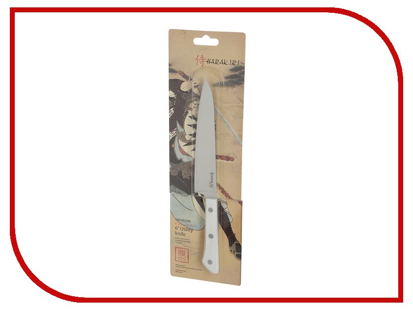 Нож Samura Harakiri SHR-0023W - длина лезвия 150мм нож samura shadow сантоку sh 0095 длина лезвия 175мм