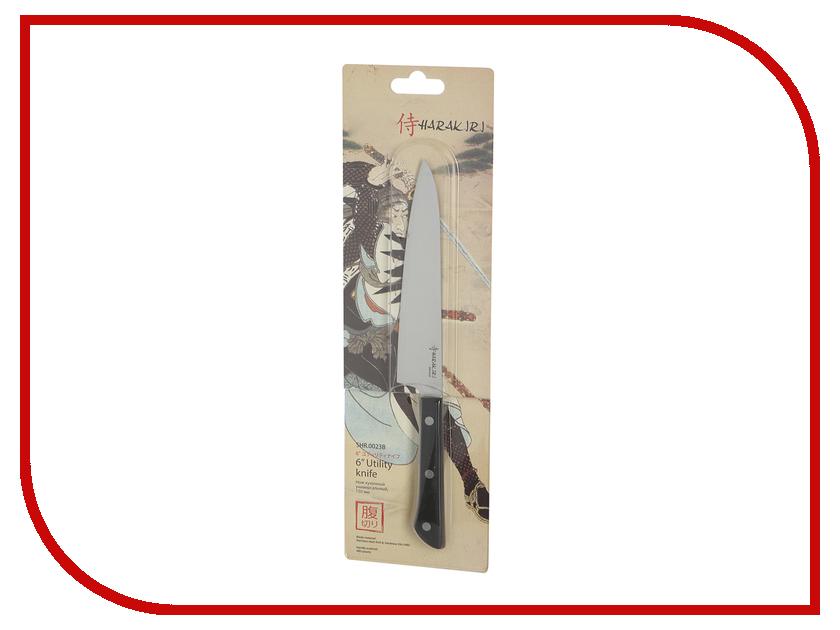 Нож Samura Harakiri SHR-0023B - длина лезвия 150мм нож кухонный универсальный 150 мм samura harakiri shr 0023b