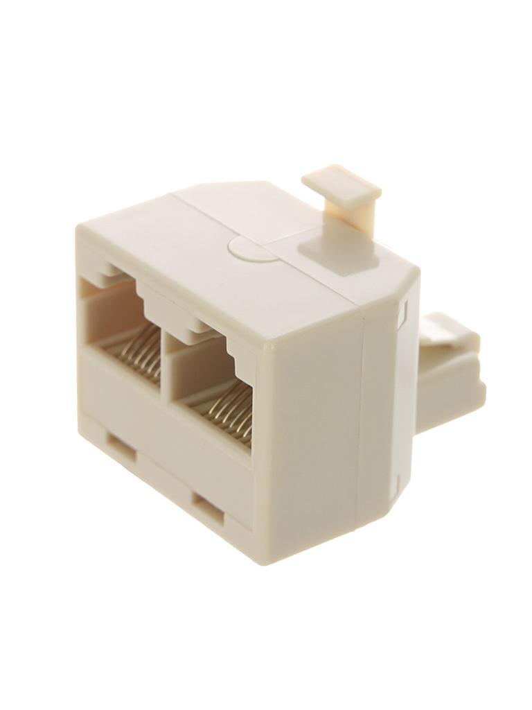 Разветвитель VCOM Plug/2-8P8C VTE7714