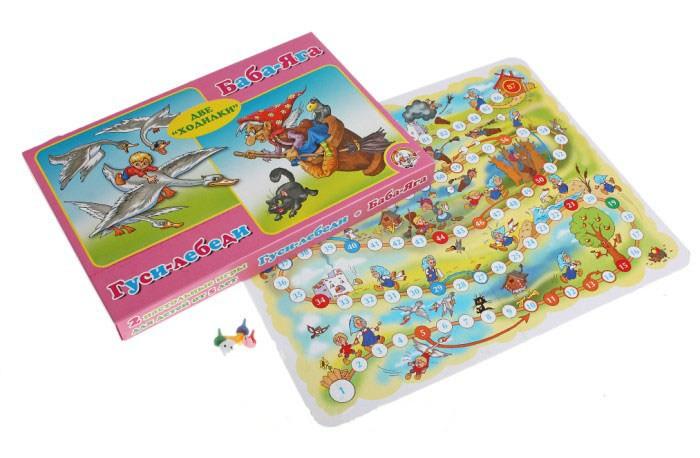 Настольная игра Десятое Королевство Гуси - лебеди Баба - Яга 00178<br>
