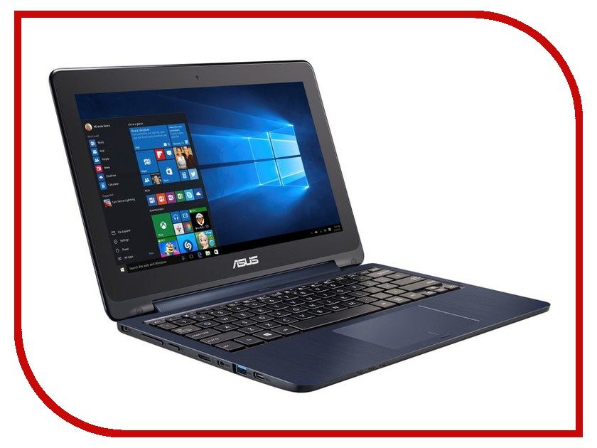 Ноутбук ASUS TP200SA-FV0108TS 90NL0081-M03510 Intel Celeron N3050 1.6 GHz/2048Mb/32Gb/No ODD/Intel HD Graphics/Wi-Fi/Bluetooth/Cam/12.0/1366x768/Touchscreen/Windows 10<br>