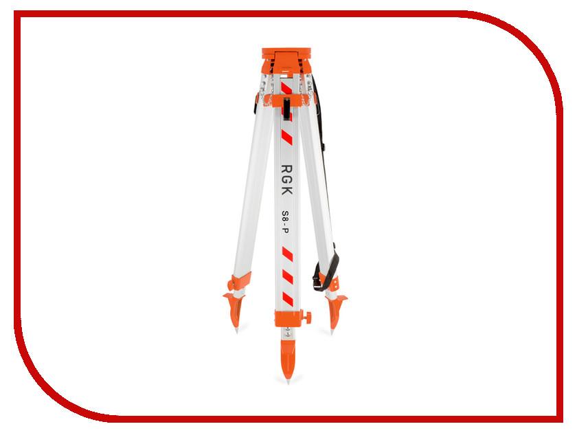 Штатив RGK S8-P аксессуар rgk ld 8 приемник лазерного излучения