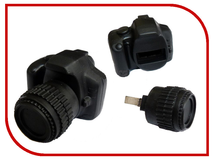 USB Flash Drive 4Gb - Союзмультфлэш Фотоаппарат FM4ED3.48.BL<br>