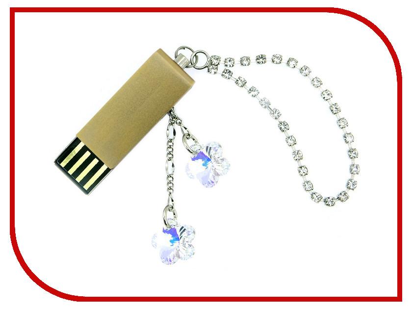 USB Flash Drive 4Gb - Союзмультфлэш Кристаллы Gold FM4SW2.02.GLD