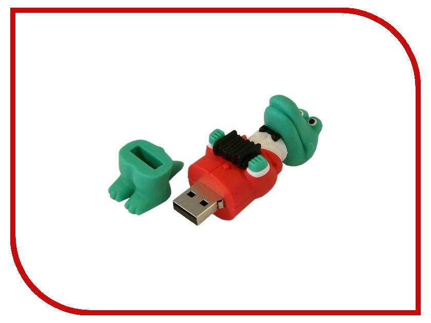 USB Flash Drive 4Gb - Союзмультфлэш Крокодил Гена FM4MT.05<br>