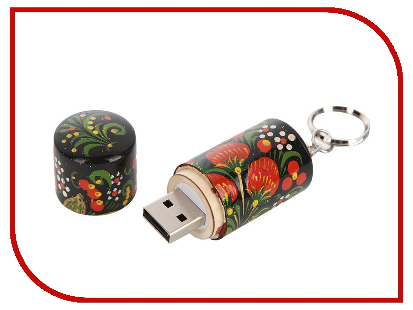 USB Flash Drive 16Gb - Союзмультфлэш Хохлома FM16RUS7.14.01H<br>