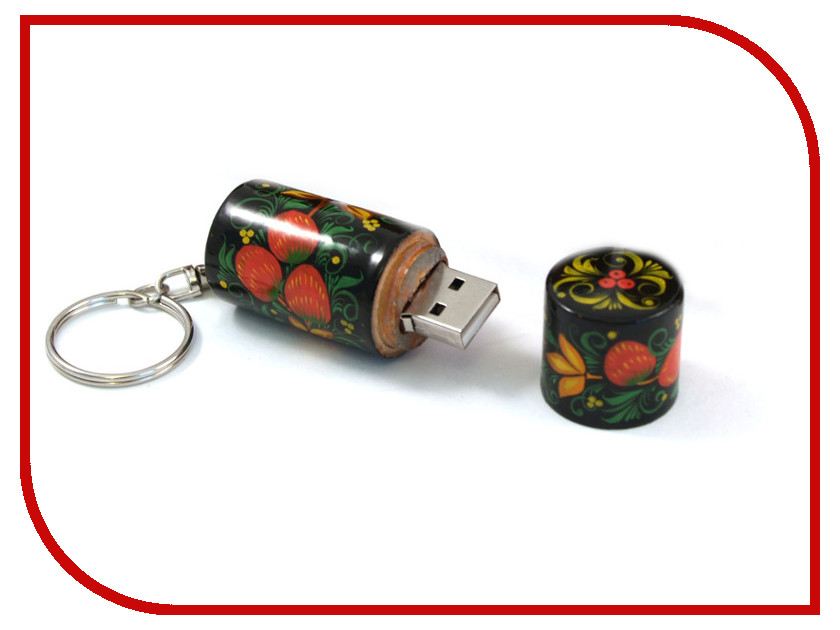 USB Flash Drive 64Gb - Союзмультфлэш Хохлома FM64RUS7.14.01H<br>