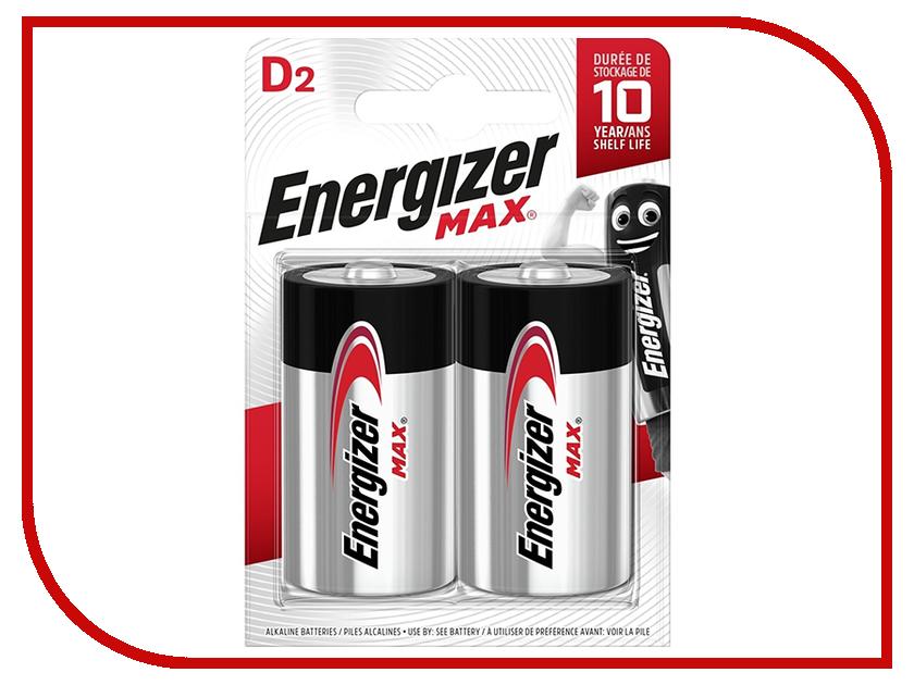 Батарейка D - Energizer MAX D/LR20 1.5V (2 штуки) батарейка d minamoto 1 5v r20 sr2 2 штуки