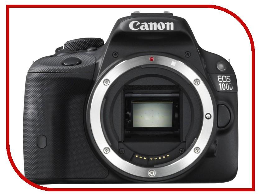 Фотоаппарат Canon EOS 100D Body Black фотоаппарат canon eos 1300d body