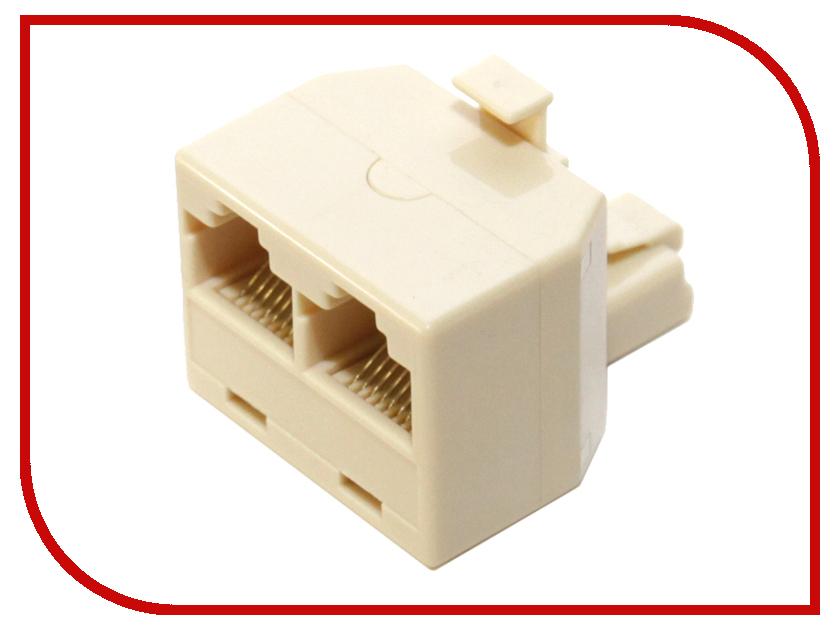 Разветвитель 5bites LY-US024 RJ-45 8P8C M/2F проходник 5bites ly us022 rj 45 8p8c f f